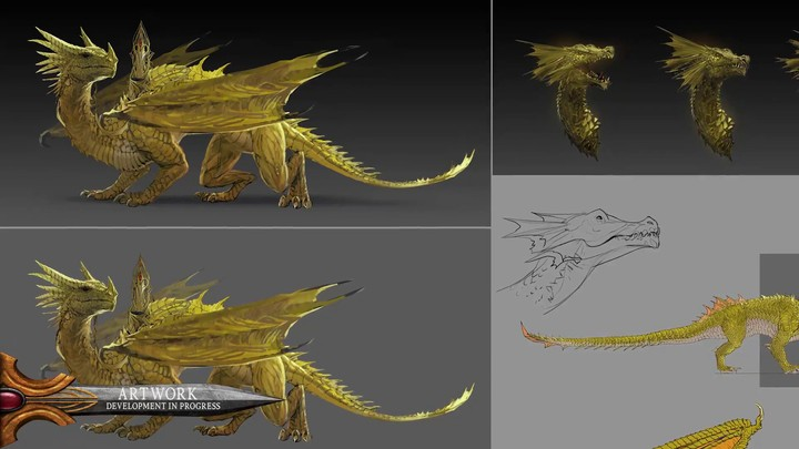 Présentation du dragon de lune de Total War Warhammer II