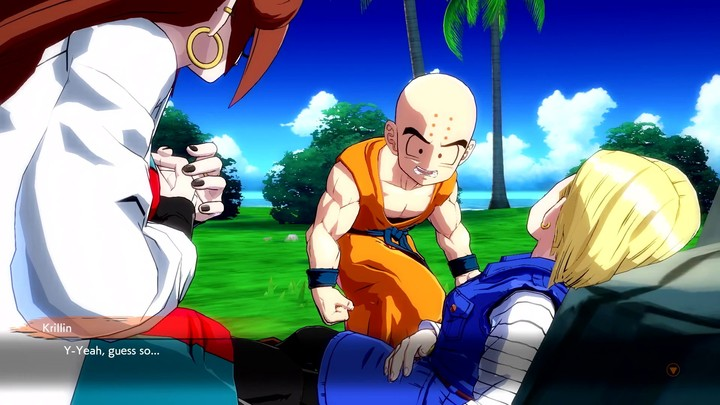 L'androïd 21 de Dragon Ball FighterZ se présente
