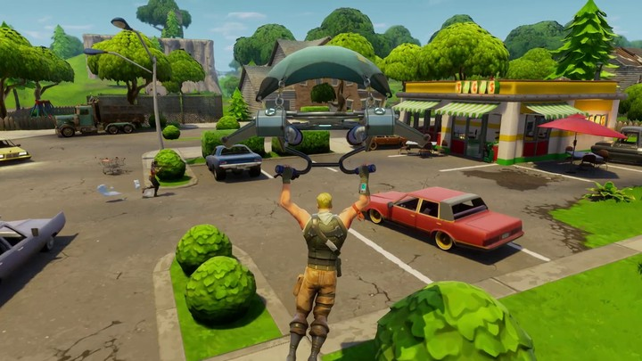 Le mode Battle Royale arrive sur Fortnite