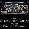 Bande Originale du SdaO - Chance Thomas - Theme for Rohan