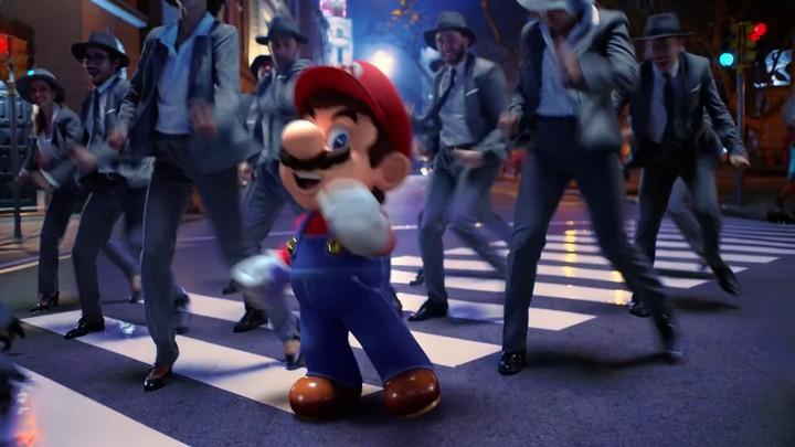 En route vers la sortie de Super Mario Odyssey