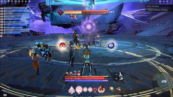 Vidéo de joueur : down de l'avatar du démon Nihaz dans Skyforge