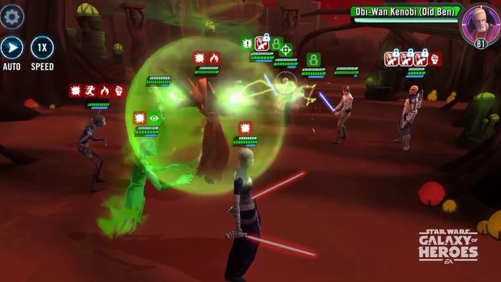 Star Wars Galaxy of Heroes - Bande annonce des nouvelles Soeurs de la Nuit