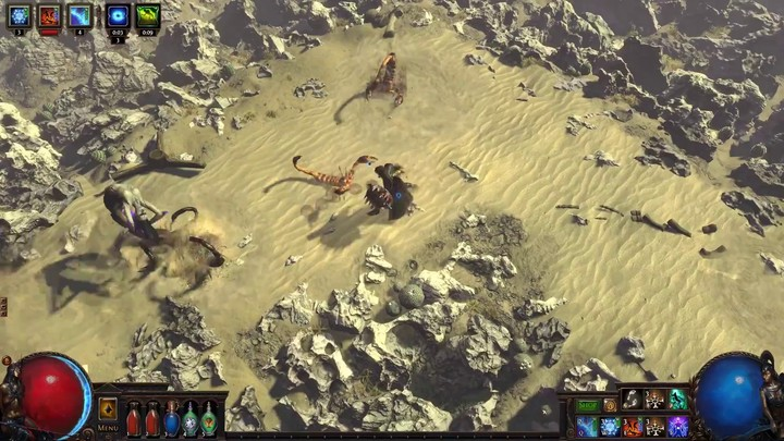 Aperçu de Shakari, la reine des sables de Path of Exile: War for the Atlas
