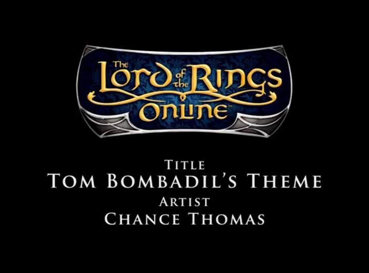 Bande Originale du SdaO - Chance Thomas - Thème de Tom Bombadil