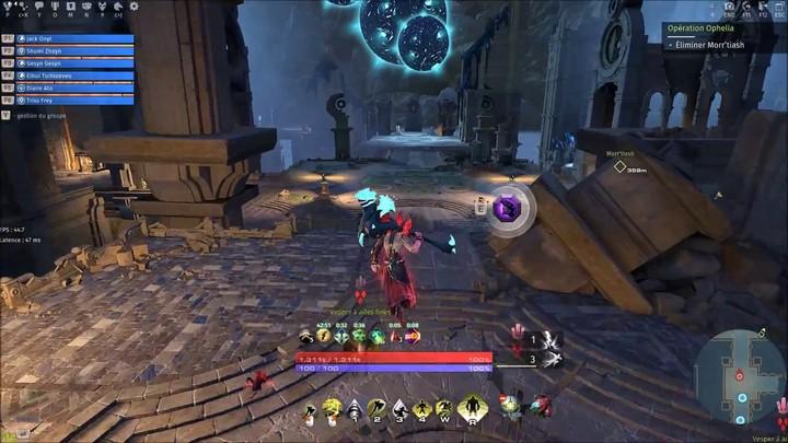 Exploration de l'Aventure Ophélia de Skyforge (hard mode à six joueurs)