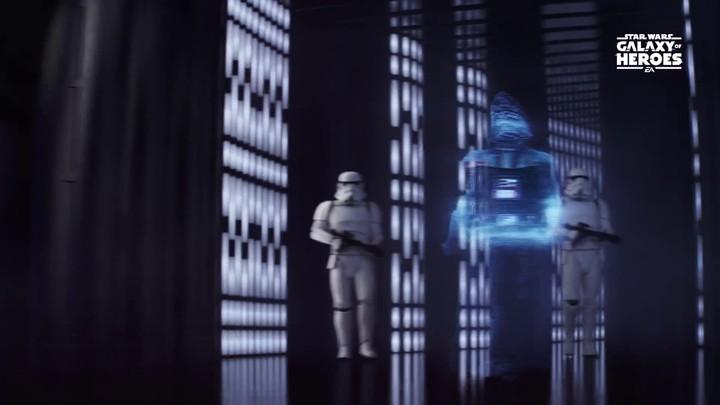Publicité pour Star Wars Galaxy of Heroes