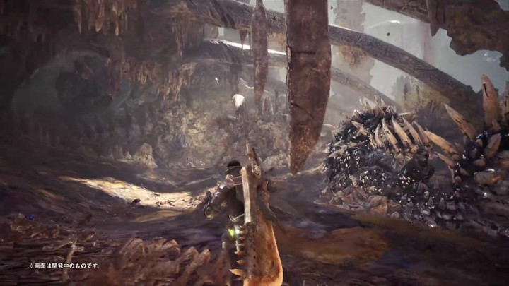 Publicité japonaise de Monster Hunter World