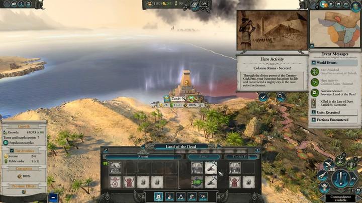 Let's Play : aperçu des Rois des Tombes de Total War Warhammer II