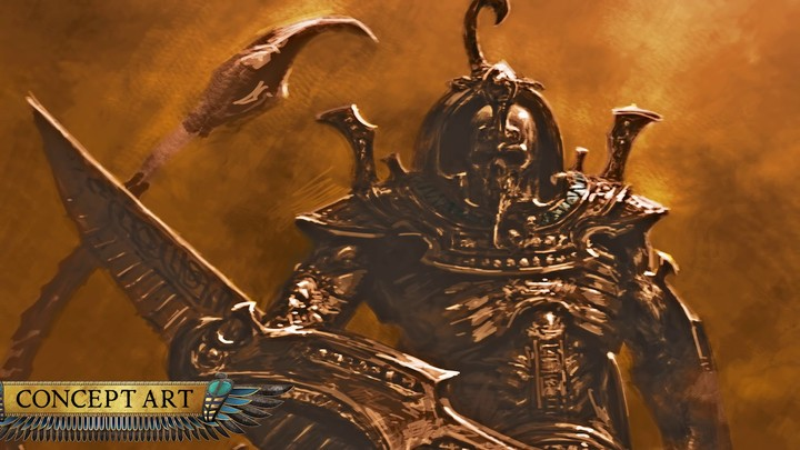 Aperçu des Sphinxes de Total War Warhammer 2: Rise of the Tomb Kings
