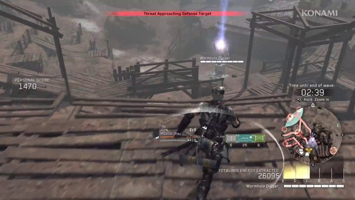 Aperçu du contenu coopératif de Metal Gear Survive