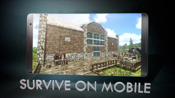 Bande annonce d'ARK: Survival Evolved sur mobile
