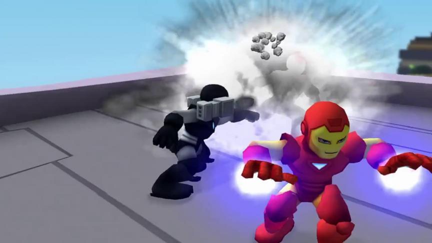 Comic-Con 2010 : Bande-annonce de Super Hero Squad Online