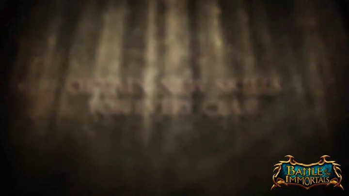 Bande-annonce du Manoir des Ombres de Battle of the Immortals