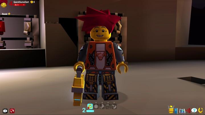 Le système de faction de LEGO Universe