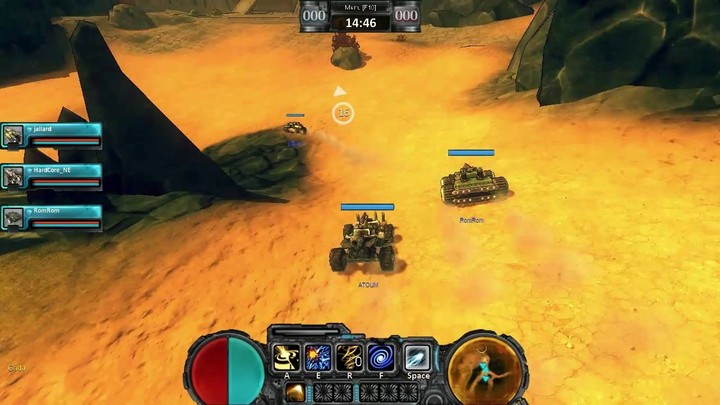 Le gameplay du Firestorm de Crasher