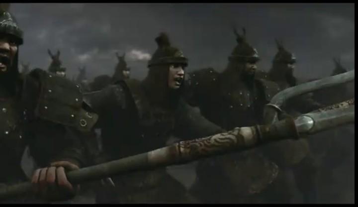 Teaser cinématique coréen de The Heaven of Three Kingdoms