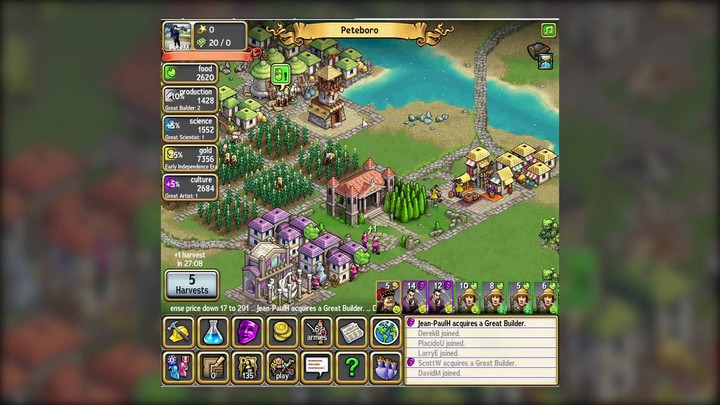 Gameplay de Civ World commenté