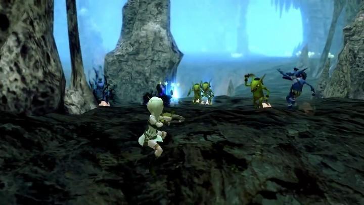 Le gameplay de l'archère de Dragon Nest