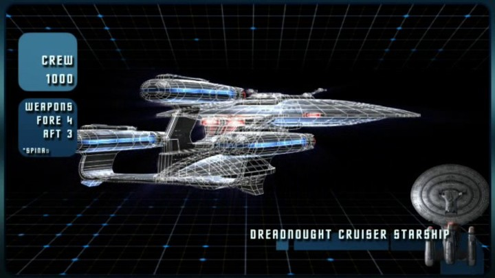 Le vaisseau Galaxy Dreadnought