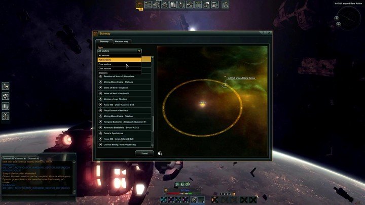 Tutorial Black Prophecy : les bases de l'interface