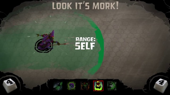 Zoom sur Glowgob le Vert de Wrath of Heroes
