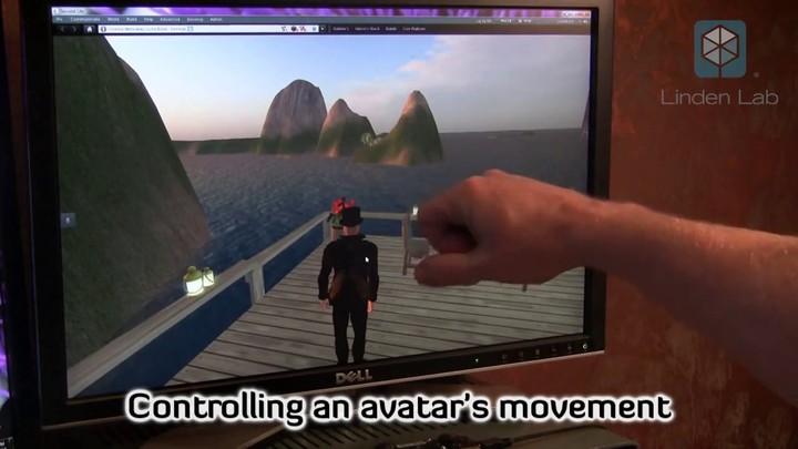 Utilisation du Leap motion dans Second Life