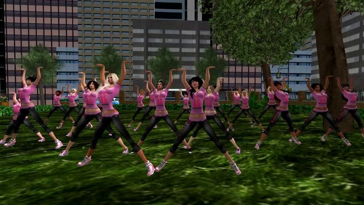 ONE BILLION RISING sur Second Life