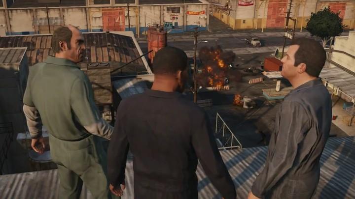 Première vidéo officielle du gameplay de Grand Theft Auto V