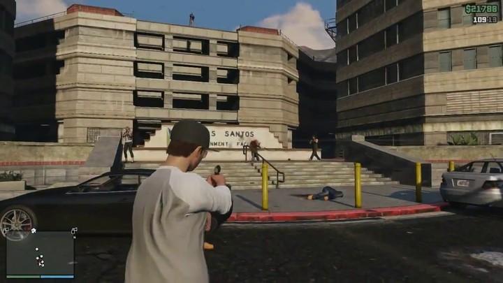 Le gameplay de Grand Theft Auto Online