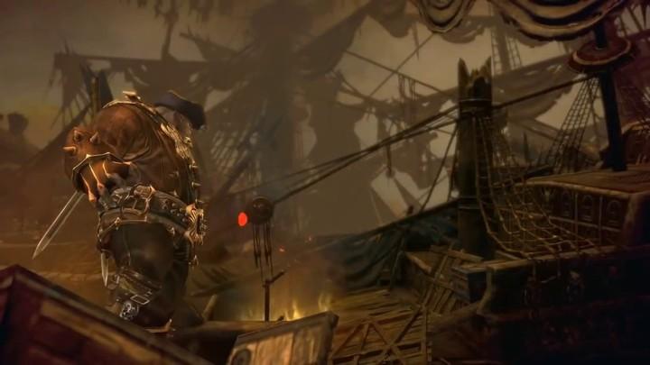 Donjon de Tera : la flotte échouée