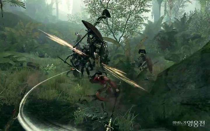 Aperçu du gameplay in-game de Lynn dans Mabinogi Heroes