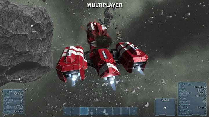 Présentation du mode multijoueur (alpha) de Space Engineers