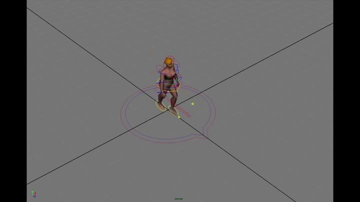 Animation des personnages féminins d'Albion Online