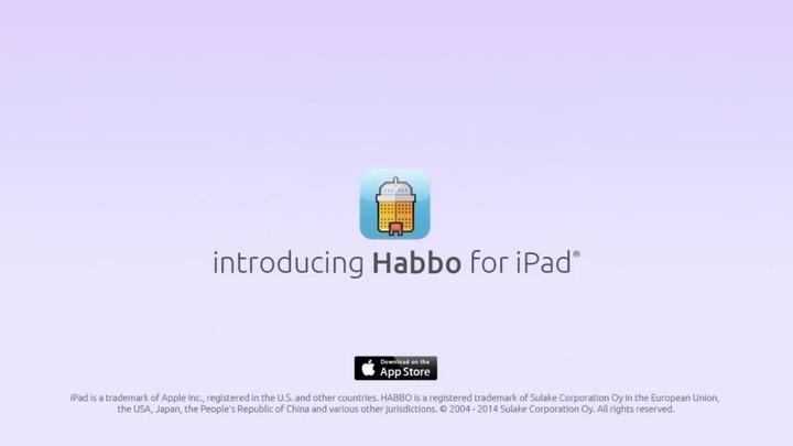 Habbo s'annonce sur iPad