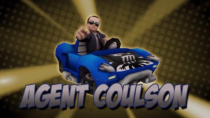 Présentation de l'Agent Coulson de Marvel Super Hero Squad Online