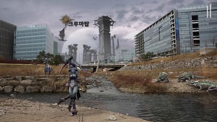Publicité sud-coréenne de Lineage II Classic #1