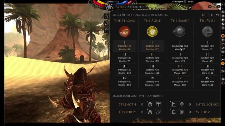 Présentation de la construction des personnages sur DarkFall : Unholy Wars