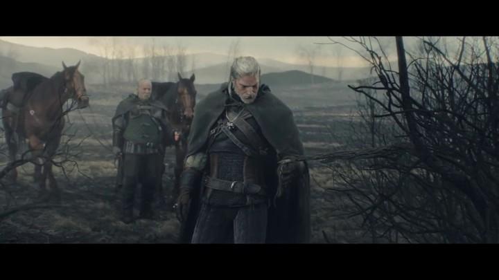 """Cinématique d'introduction """"The Trail"""" de The Witcher 3: Wild Hunt"""