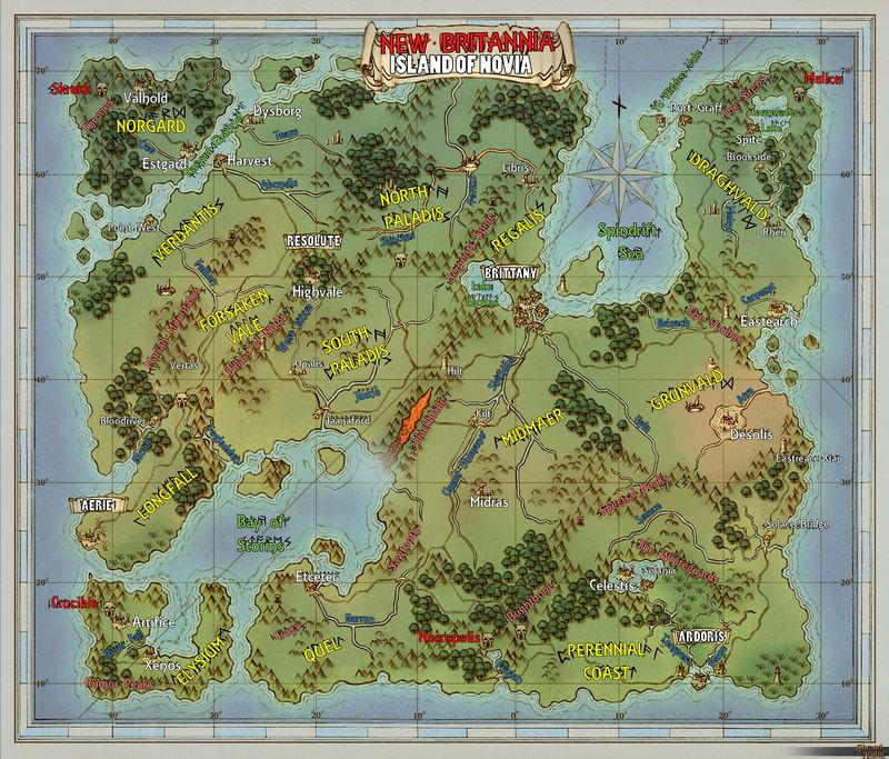 Carte de New britannia, version 6