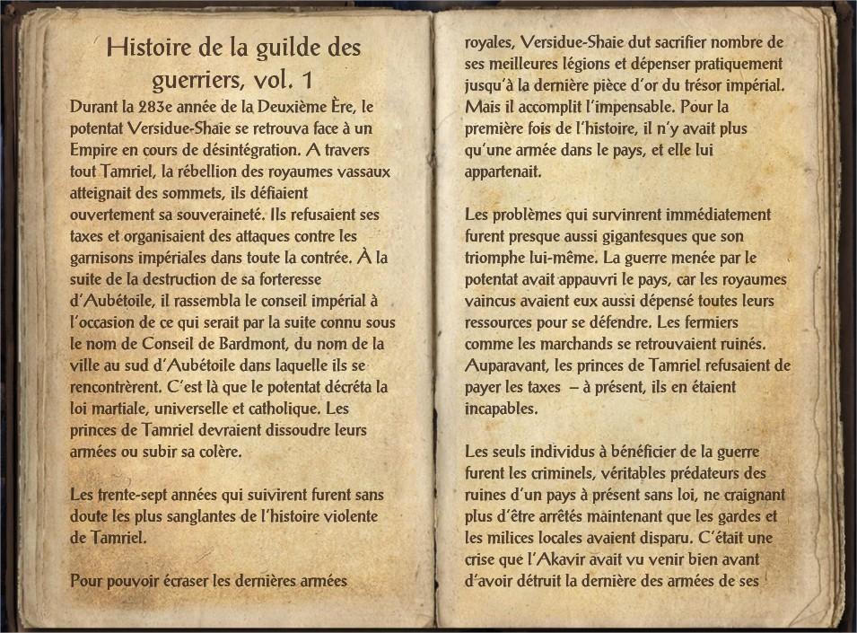 Histoire de la guilde des guerriers, vol. 1-1.jpg