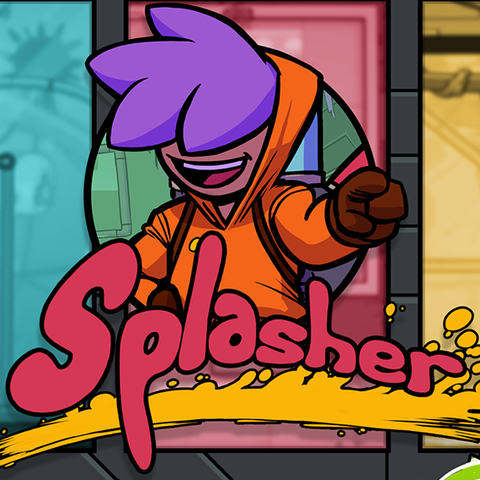 Splasher - Test de Splasher – Splash boing boing