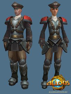 Les guerriers d'Allods : capitaine