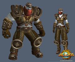 Les guerriers d'Allods : traqueur