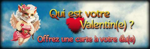 Évènement : Qui est votre valentin(e) ?