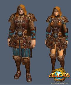 Les guerriers d'Allods : rôdeur