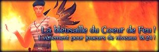 Event : la bleusaille du Cœur de feu