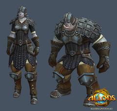Les guerriers d'Allods : brutes