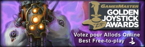 Votez pour Allods Online aux Golden Joystick Awards