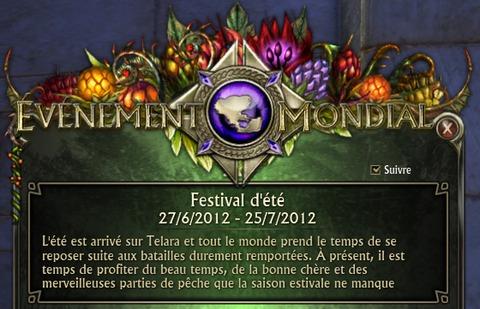 Festival d'été (mise à jour 1.9)